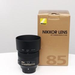 Occasion NIKON  AF-S 85mm f/1.8 G