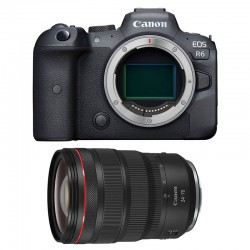 CANON EOS R6 + RF 24-70mm f/2.8 L IS USM Garanti 3 ans