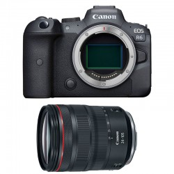 CANON EOS R6 + RF 24-105mm f/4L IS USM Garanti 3 ans