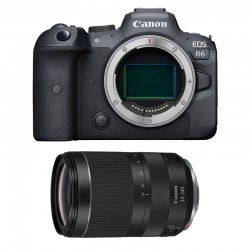 CANON EOS R6 + RF 24-240mm f/4-6.3 IS USM Garanti 3 ans