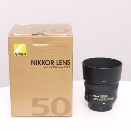 Occasion NIKON Objectif AF-S 50mm f/1.8 G