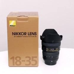 Occasion NIKON AF-S 18-35mm f/3.5-4.5G ED