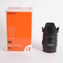 Occasion SONY Objectif SAL 35mm f/1.4 G