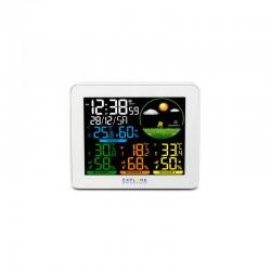 EXPLORE SCIENTIFIC Station météo couleur multi-capteurs (3). blanche