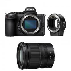 NIKON Z 5 + Z 24-70mm f/4 S Garanti 3 ans + FTZ Adaptateur