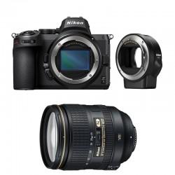 NIKON Z 5 + AF-S 24-120 mm f/4 G ED VR Garanti 3 ans + FTZ Adaptateur