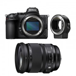 NIKON Z 5 + SIGMA 24-105mm f/4 DG OS HSM ART Garanti 3 ans + FTZ Adaptateur