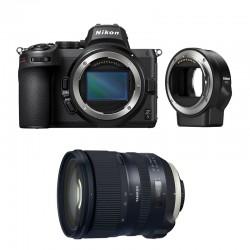 NIKON Z 5 + TAMRON Objectif SP 24-70mm f/2.8 Di VC USD G2 Garanti 3 ans + FTZ Adaptateur
