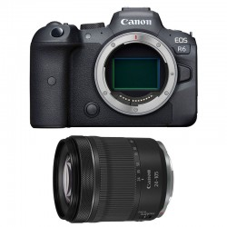 CANON EOS R6 + RF 24-105mm f/4-7.1 IS STM Garanti 3 ans