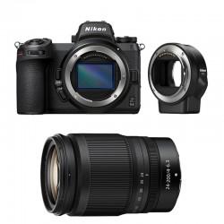 NIKON Z6 II + Z 24-200mm f/4-6.3 + Bague FTZ  Garanti 3 ans