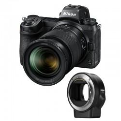 NIKON Z6 II + Z 24-70mm f/4 S Garanti 3 ans + FTZ Adaptateur