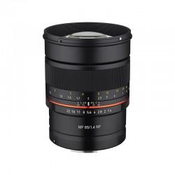 SAMYANG Objectif MF 85mm f/1.4 monture RF