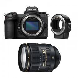 NIKON Z7 II + AF-S 24-120mm f/4 G ED VR Garanti 3 ans + FTZ Adaptateur