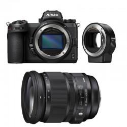 NIKON Z7 II + SIGMA 24-105mm f/4 DG OS HSM ART Garanti 3 ans + FTZ Adaptateur
