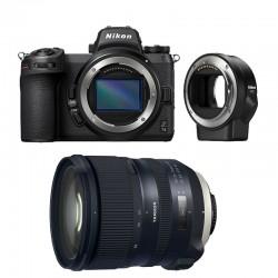 NIKON Z7 II + TAMRON Objectif SP 24-70mm f/2.8 Di VC USD G2 Garanti 3 ans + FTZ Adaptateur