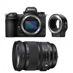 NIKON Z6 II + SIGMA 24-105mm f/4 DG OS HSM ART Garanti 3 ans + FTZ Adaptateur