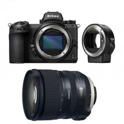 NIKON Z6 II + TAMRON Objectif SP 24-70mm f/2.8 Di VC USD G2 Garanti 3 ans + FTZ Adaptateur