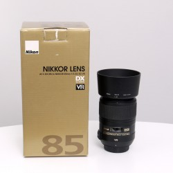 Occasion NIKON AF-S DX 85mm f/3.5 G ED VR Macro stabilisé