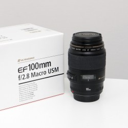 Occasion Canon 100mm f/2.8 EF Macro USM
