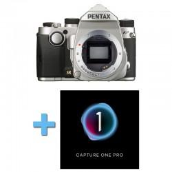 PENTAX KP SILVER Nu Garanti 3 ans + Logiciel Capture One Pro