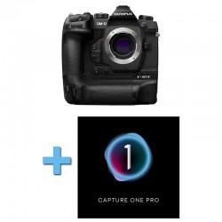 OLYMPUS OM-D E-M1X NOIR Nu Garanti 3 ans + Logiciel Capture One Pro