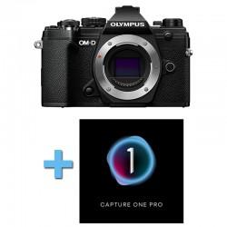 OLYMPUS OM-D E-M5 MARK III NOIR Nu Garanti 3 ans + Logiciel Capture One Pro