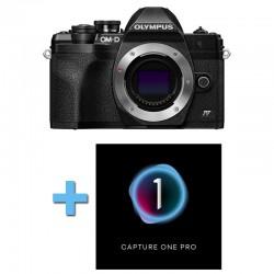 OLYMPUS OM-D E-M10 IV NOIR Nu Garanti 3 ans + Logiciel Capture One Pro
