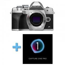 OLYMPUS OM-D E-M10 IV SILVER Nu Garanti 3 ans + Logiciel Capture One Pro