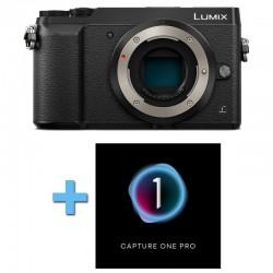 PANASONIC LUMIX GX80 Noir Nu Garanti 3 ans + Logiciel Capture One Pro