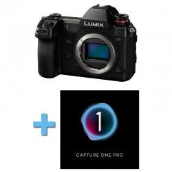 PANASONIC Lumix S1R Nu Garanti 3 ans + Logiciel Capture One Pro