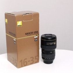 Occasion NIKON AF-S 16-35mm f/4 G ED VR zoom grand-angle