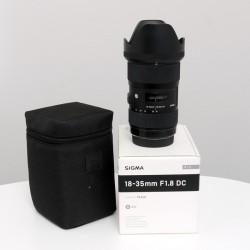 Occasion SIGMA 18-35mm f/1.8 DC HSM ART CANON