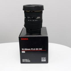 Occasion SIGMA 10-20mm f/3.5 DC EX HSM CANON