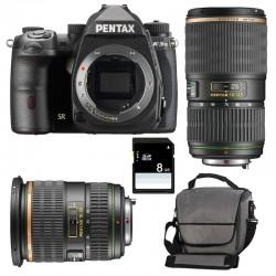 PENTAX K3 MARK III + 16-50 f/2.8 SDM + 50-135 Garanti 3 ans + Sac + SD 4Go