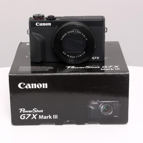 Occasion CANON POWERSHOT G7X MARK III
