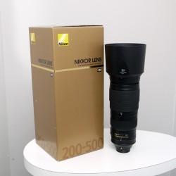 Occasion NIKON Objectif AF-S 200-500mm f/5.6 VR