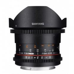 SAMYANG Objectif vidéo 8mm T3.8 Fisheye VDSLR II Sony E Garanti 2 ans
