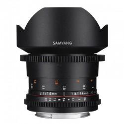 SAMYANG Objectif vidéo 14mm T3.1 VDSLR II Sony E Garanti 2 ans