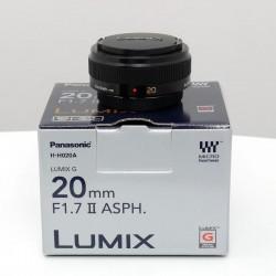 Occasion PANASONIC  Lumix G 20mm f/1.7 II Noir