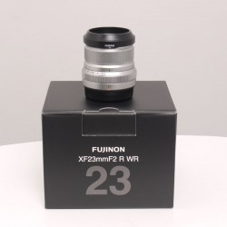 Occasion FUJI XF 23mm f/2 R WR SILVER