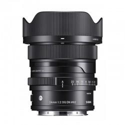 SIGMA Objectif 24mm f/2 DG DN Contemporary compatible avec Sony E