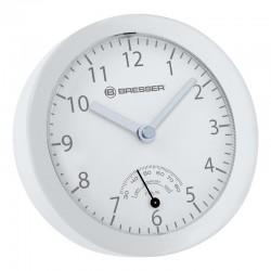 BRESSER Horloge de salle de bain MyTime mini . blanche - 8020115GYEQUA