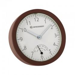BRESSER Horloge de salle de bain MyTime mini . marron - 8020115HNAQUA