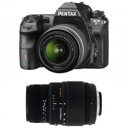 PENTAX K3 II NOIR + DAL 18-55 WR + SIGMA 70-300 GARANTI 3 ans