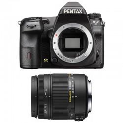 PENTAX K3 II NOIR + SIGMA 18-250 DC MACRO GARANTI 3 ans