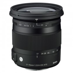 SIGMA Objectif 17-70mm f/2.8-4 DC Macro OS HSM Contemporary pour Sigma garanti 3 ans