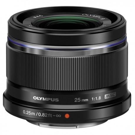 OLYMPUS Objectif M.ZUIKO 25mm f/1.8 Noir Garanti 2 ans
