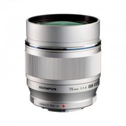 OLYMPUS Objectif M.ZUIKO ED 75mm f/1.8 Silver Garanti 2 ans