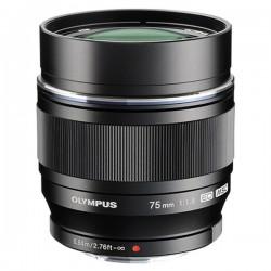 OLYMPUS Objectif M.ZUIKO ED 75mm f/1.8 Noir Garanti 2 ans