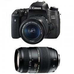 CANON EOS 760D + 18-55 IS STM + TAMRON 70-300 DI GARANTI 3 ans
